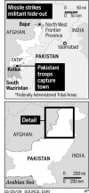 Army offensive nets Pakistan Taliban leader's hometown