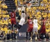 NBA playoffs: Pacers 91, Heat 77: Hibbert helps Indiana force Game 7