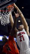 Arizona Wildcats take 24-13 halftime lead over Oregon State