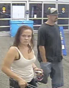 Man, woman suspects in car theft
