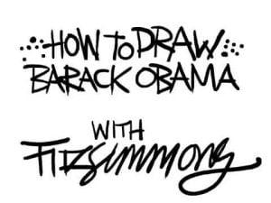 Fitz studio: How to draw the President