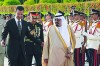 Saudi king visits Syria to improve ties