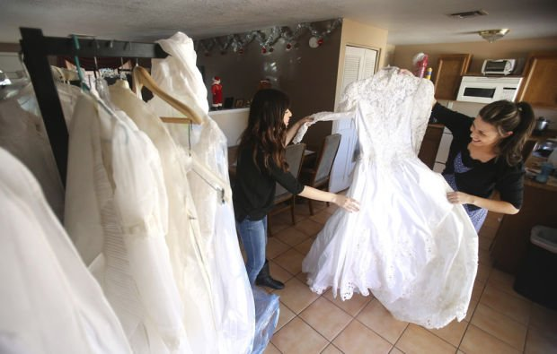 Bridal resale boutique to benefit victims of sex for Resale wedding dresses chicago