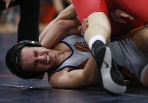 Photos: Cienega vs. Sahuaro wrestling