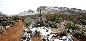 Photos: Snow around Tucson on Feb. 20-21, 2013