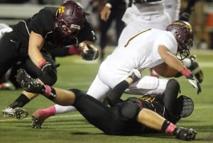 Salpointe High School 42, Nogales 7
