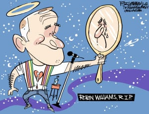 Fitz Cartoon: Robin Williams