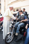 Photos: Pope blesses thousands of Harley-Davidsons, bikers