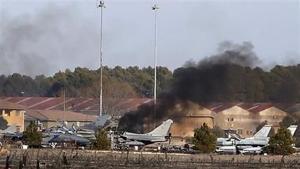 Suben a 11 los muertos del accidente de F-16 en España
