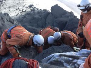 Japón: Las rocas volcánicas mataron a 46 personas