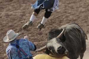 Photo gallery:  Tucson Rodeo action