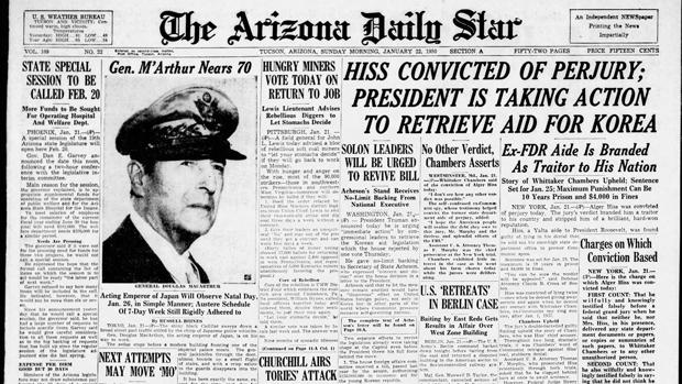 Arizona Daily Star front pages: Draft dodgers pardoned