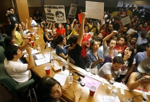 Photo gallery: Protest at TUSD meeting