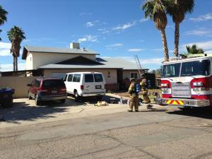 Boy critically injured in Tucson house fire