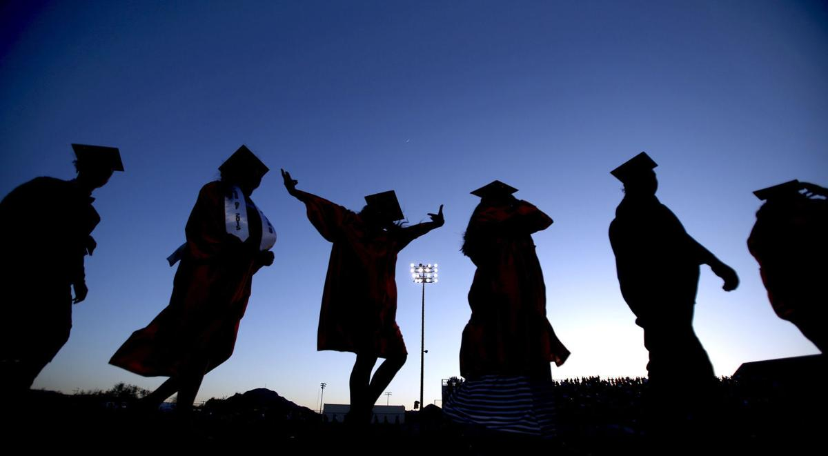 Cholla High School graduation