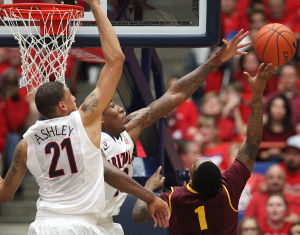 Photos: No. 1 Arizona 91, ASU 68