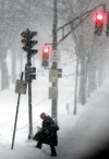 Blustery storm slams Northeast