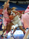 UA vs. Utah women's college basketball