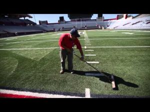 How the UA gets its turf ready for game day