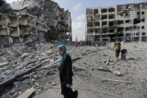 Photos: New Gaza cease-fire starts