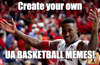 Create your own UA basketball memes
