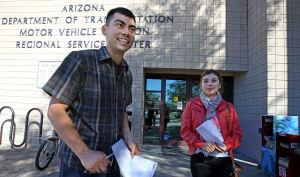 Soñadores libres para solicitar licencias para manejar
