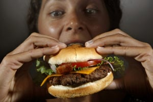 Burger Madness exhibition round