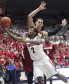 Pac-12 basketball No. 7 Arizona 73, Stanford 66 Cats shake off Cardinal
