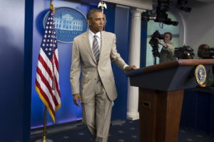 Obama's tan suit buzzed around the world