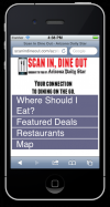 Scan In, Dine Out preview