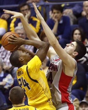 'Baby steps' have 7-foot Ristic rising up UA ladder