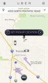 Uber cab service