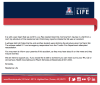 Email from UA Residence Life on UA student death