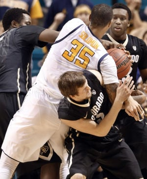 Pac-12 tournament photos: No. 5 Colorado 59, California 56