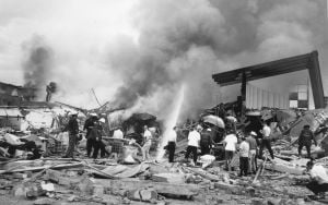 Photos: Supreme Cleaners explosion in 1963