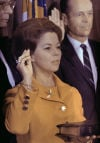 Shirley Temple Black Sworn In 1969