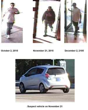 Police looking for UA merchandise thief
