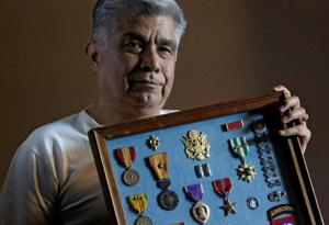 Intelligence officer during Vietnam works to help vets