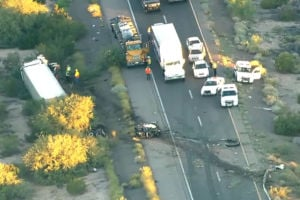 I-10 fatality causes long delays near Casa Grande