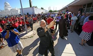 Photos: Blessing Santa Cruz School's renovation