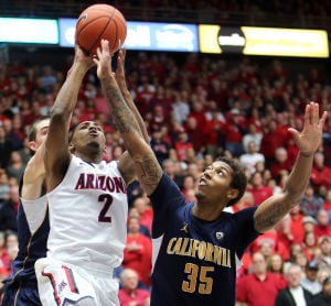 Arizona basketball senior Mark Lyons