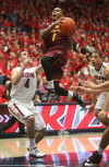 Mr. Vegas: ASU's Carson will try to continue Sin City success