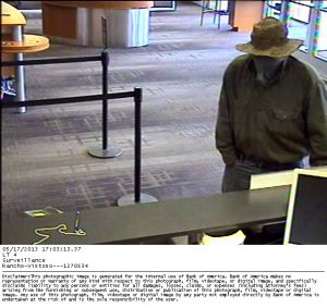 Oro Valley bank robber sought