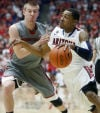 Arizona basketball Clutch Lyons holds his own