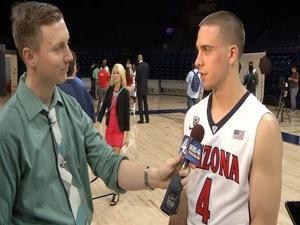 Arizona basketball media day player highlights