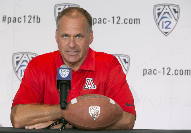 Rodriguez puts on show at Pac-12 media days