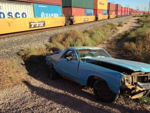Train hits car in Marana; minor injuries