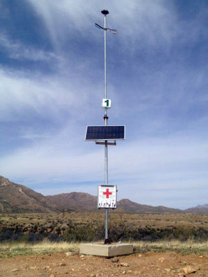 Border Patrol installs more rescue beacons in Tucson sector