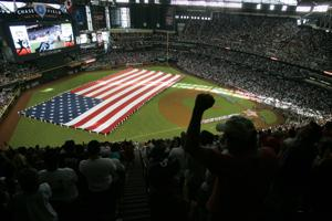 I-Ridge baseball team wins game at Chase Field on Saturday