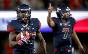 Photos: Ka'Deem Carey's Arizona football career